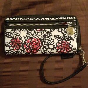 Coach Poppy purse wallet wristlet